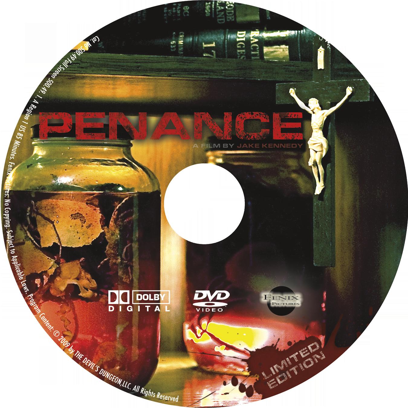 Penance DVD