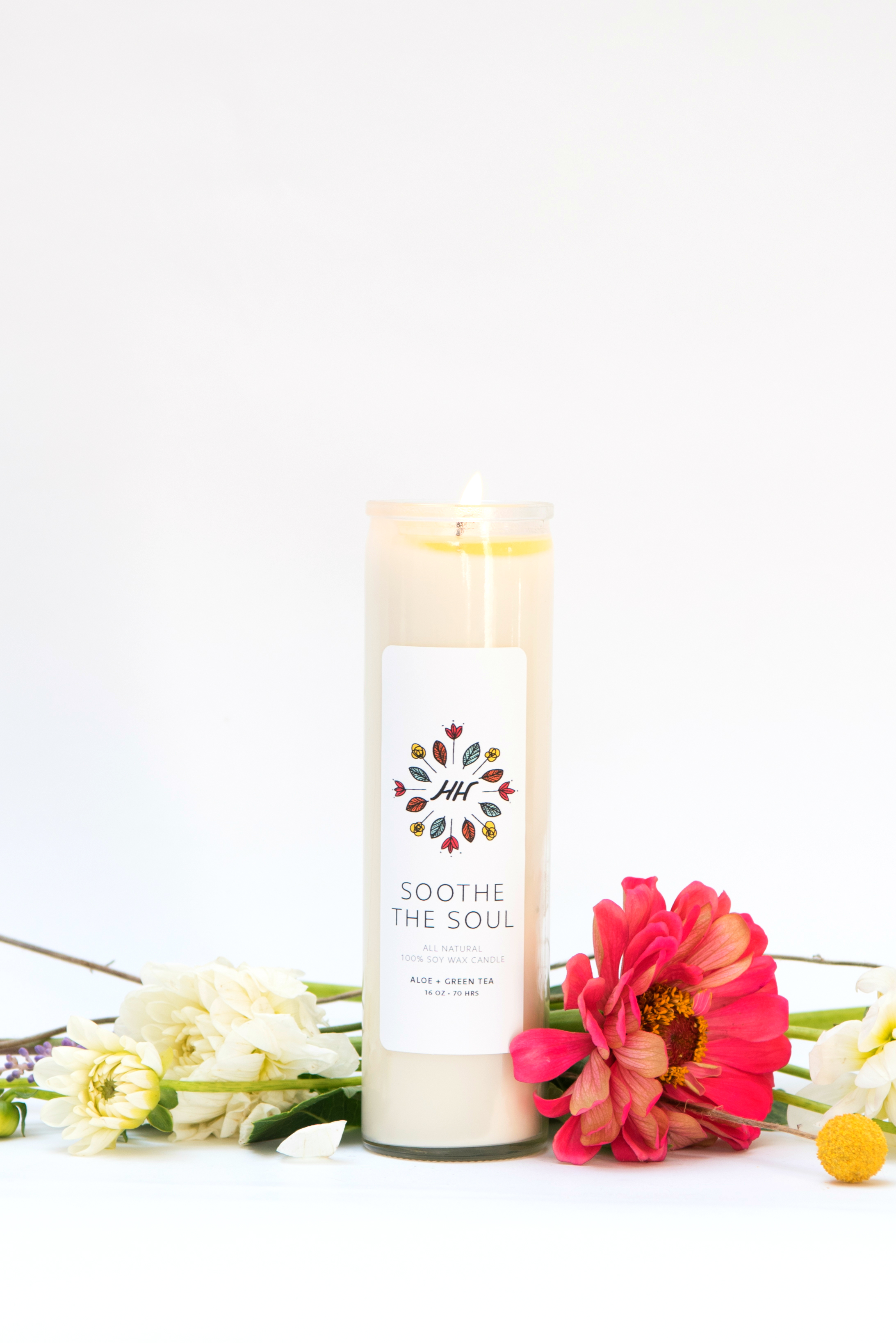 Soothe the Soul Mantra Candle