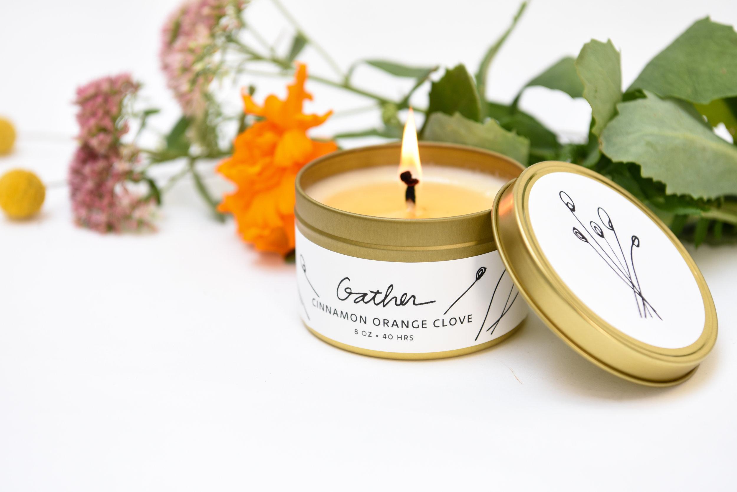 Gather Candle Tin