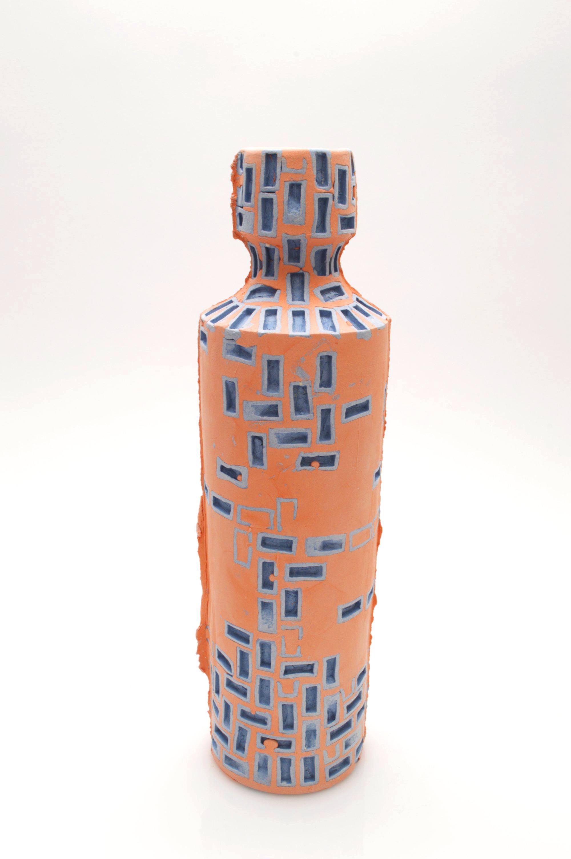 Mini-Brickware Bottle (Blue & Orange)