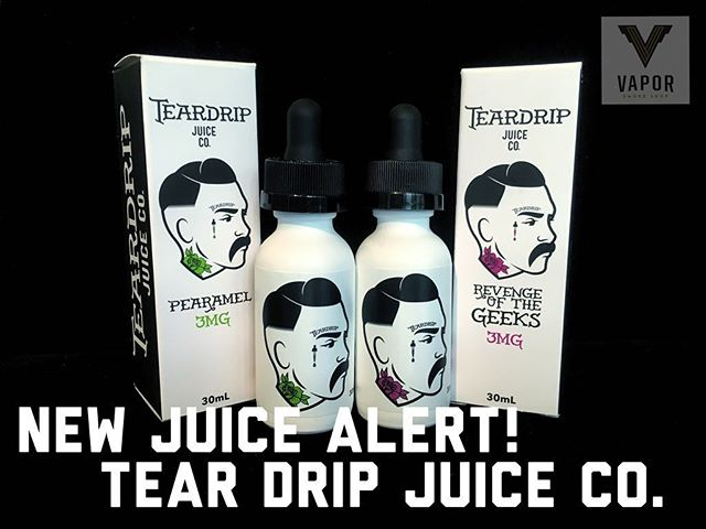 New stock here @vaporsf Pearamel and Revenge of the Geeks by @teardripjuiceco #teardripjuiceco #Ejuice #Eliquid #JuiceOfTheWeek #CaliVapers #InstaVape #WestCoastVapers #Vape #Vaper #Vapes #Vapor #VapeOn #Vaping #VapeLyfe #VapeShop #VapeDaily #VapeJuice #VapeCommunity #VapeFam #Vapestagram #VaporSmokeShop #SanFrancisco #BayAreaVapes #VaporSF
