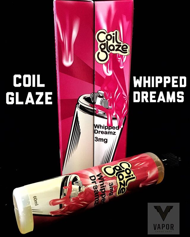 NEW JUICE IN STOCK! Whipped Dreams by @coilglaze  A light pastry filled with whipped strawberry cream.  Come give it try!  #Ejuice #Eliquid #JuiceOfTheWeek #CaliVapers #InstaVape #WestCoastVapers #Vape #Vaper #Vapes #Vapor #VapeOn #Vaping #VapeLyfe #VapeShop #VapeDaily #VapeJuice #VapeCommunity #VapeFam #Vapestagram #VaporSmokeShop #SanFrancisco #BayAreaVapes #VaporSF