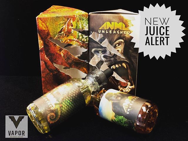 We just got in two new flavors here @vaporsf from @anmlvapors and we are loving them! Come give them a try!
