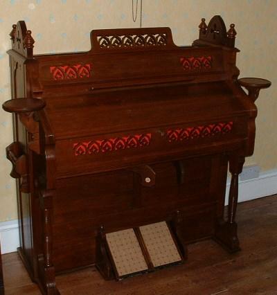 Estey of Brattleboro, 1892 Chancel Organ. Restored in 2003-2004