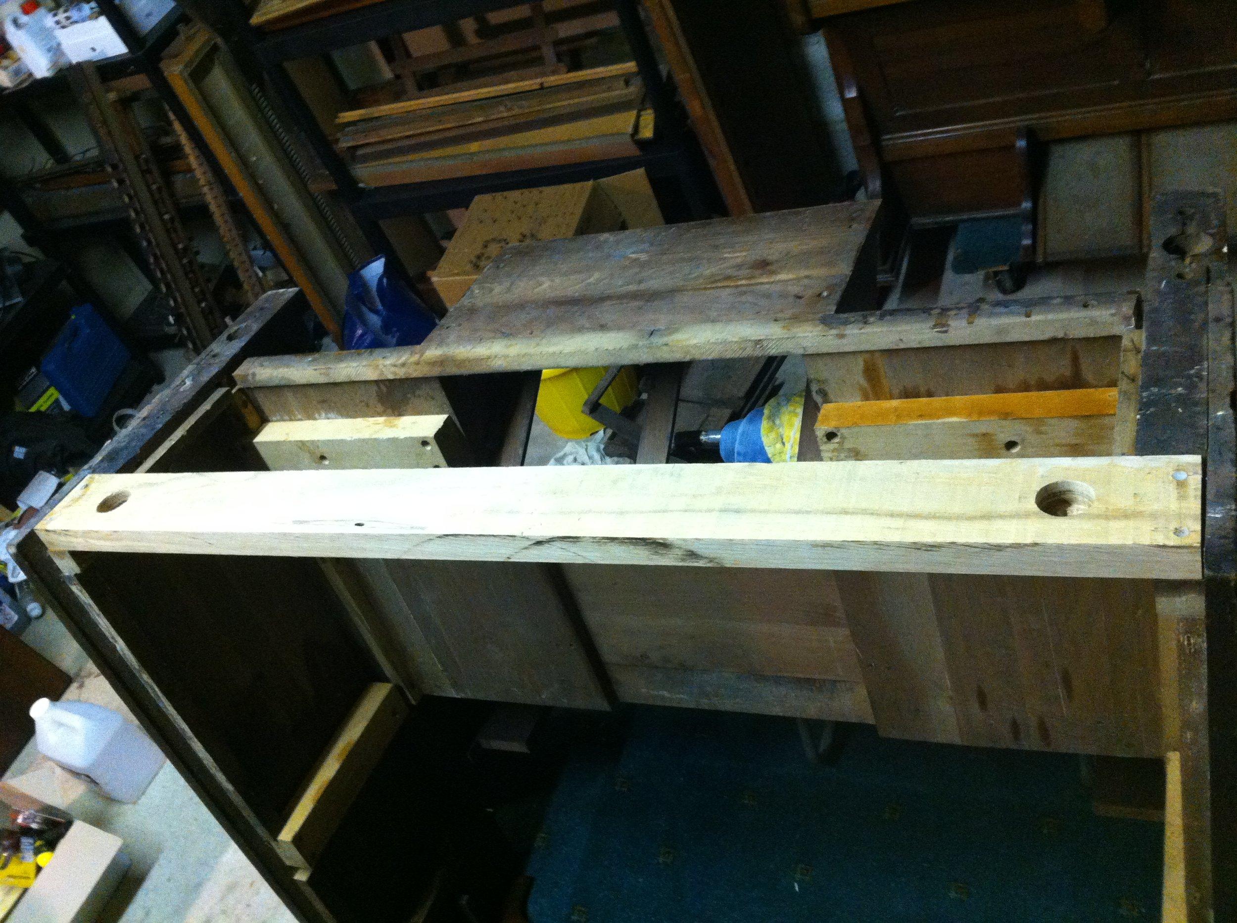 New back rail