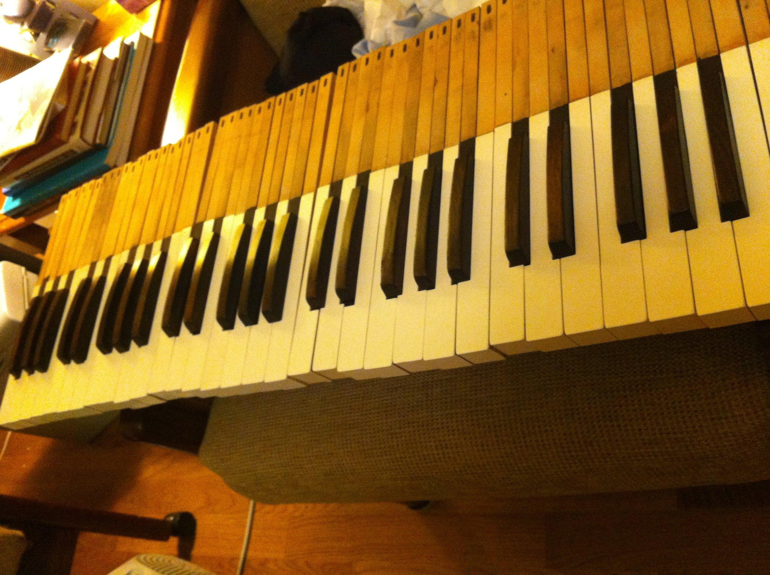 Keys all polished