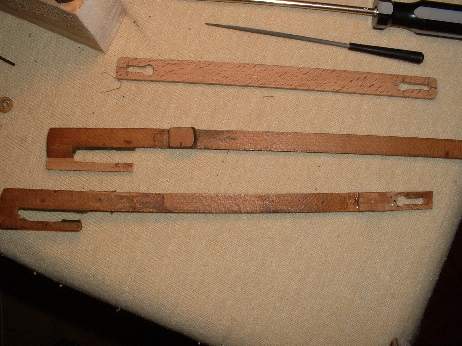 New and repaired linkages