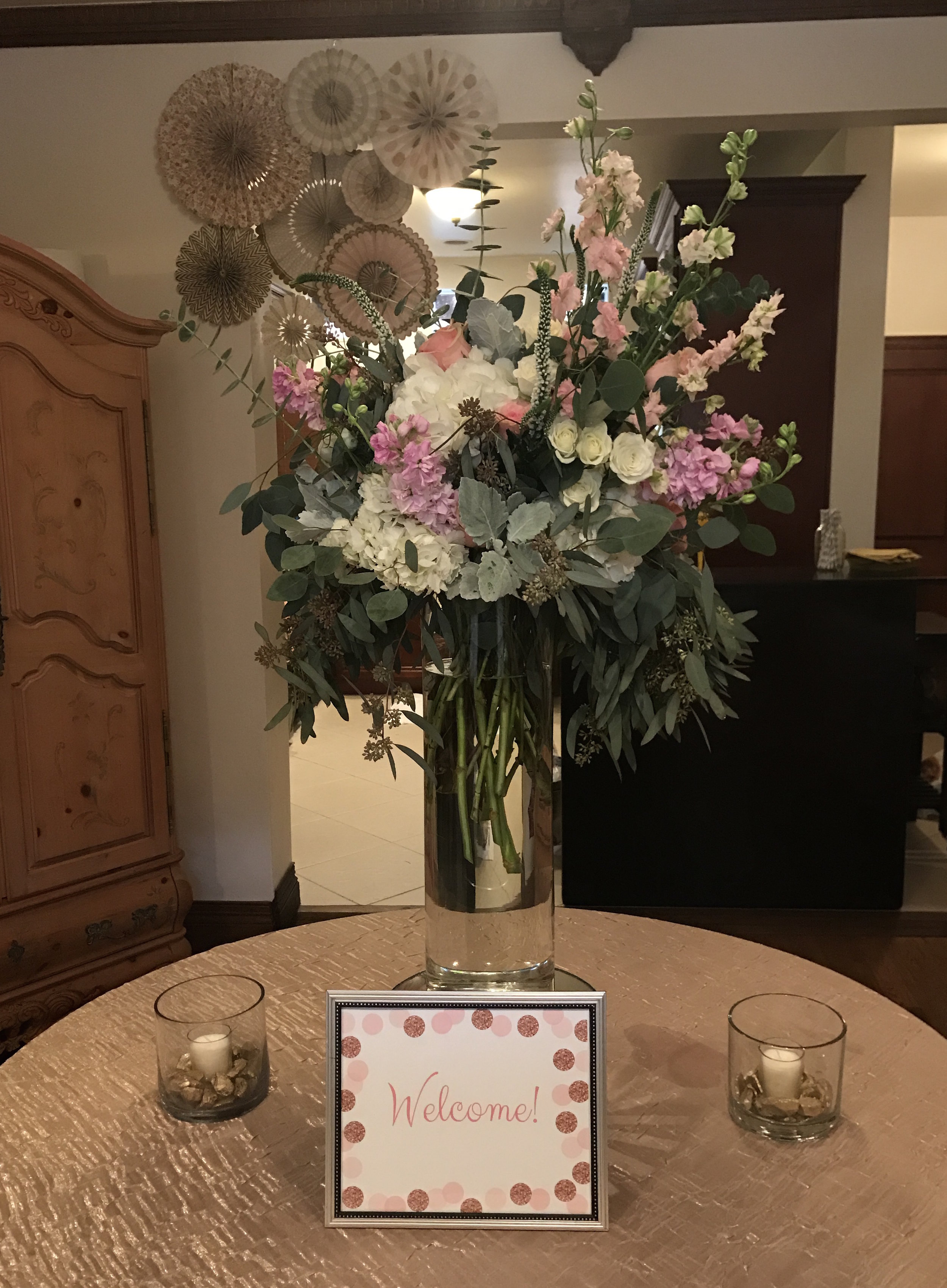 Baby Shower  Florals: Beautiful Savage Flowers   Crescent  Package: Partial Planning, & Coordination