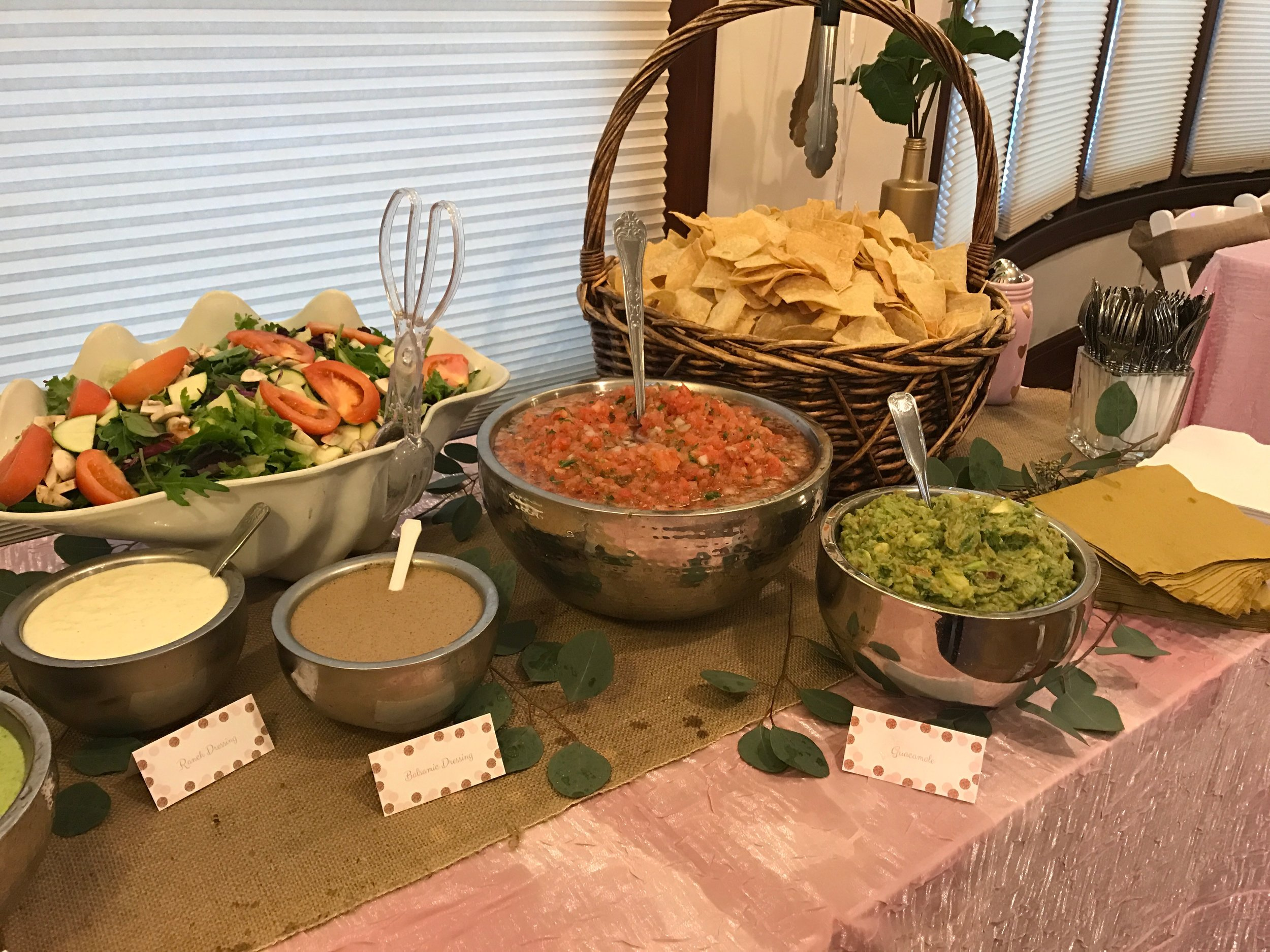 Baby Shower   Catering:  Wahoo Food Truck   Crescent  Package: Partial Planning, & Coordination