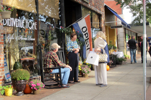 - One of the most noteworthy aspects of shopping in Historic Georgetown SC is that there are no big chain stores. Most every business is owned and operated by someone who lives locally.