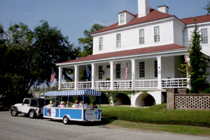 - Stay in town at one of our wonderful inns or hotels. You won't want to miss the tours in Georgetown that will take you around town or shelling and out to the lighthouse.