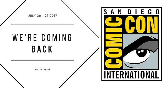 We're coming back to Comic Con International! Come see us at booth #5618 July 20-23, 2017!  #comiccon #comicconinternational #sandiegocomiccon #steampunk #popupshop