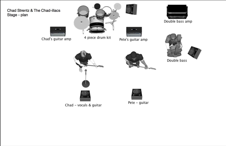 Chad-illacs Stage Plan
