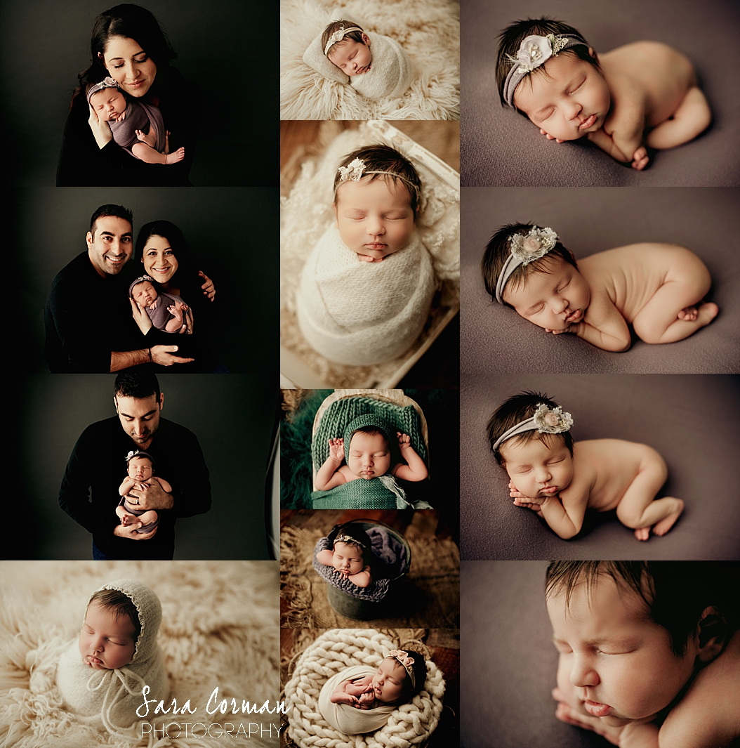 Styled Studio Newborn Session