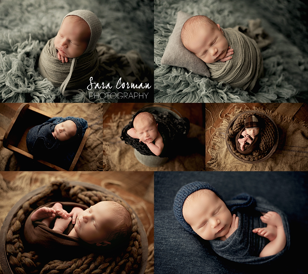 Wrapped Mini Newborn Session