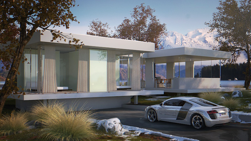concept alpine luxury