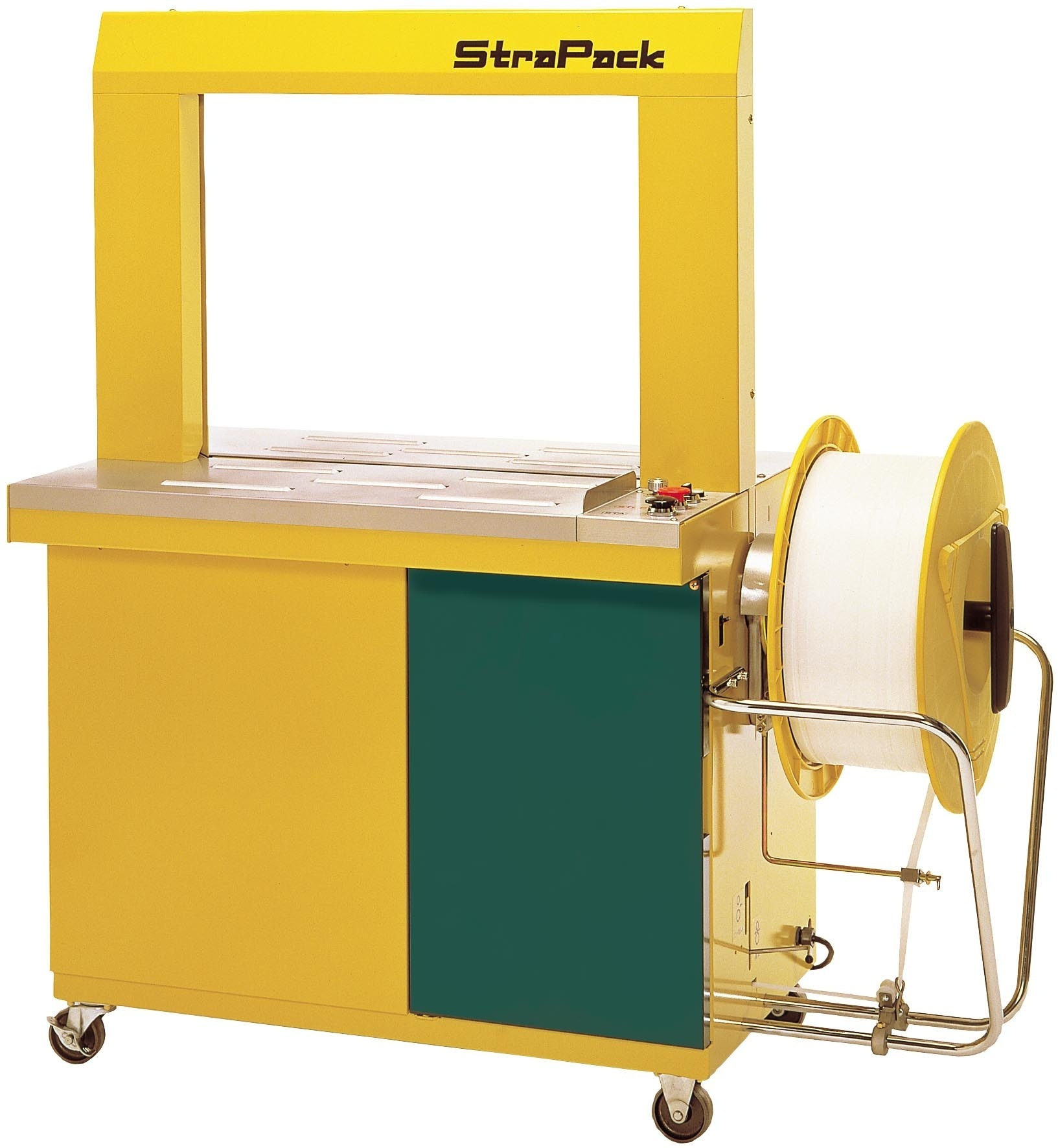 Commercial automatic strapping machines and equipment from GTI Industries Inc in Florida, USA