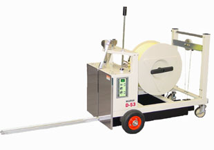 Commercial pallet strapping machines and equipment from GTI Industries Inc in Florida, USA