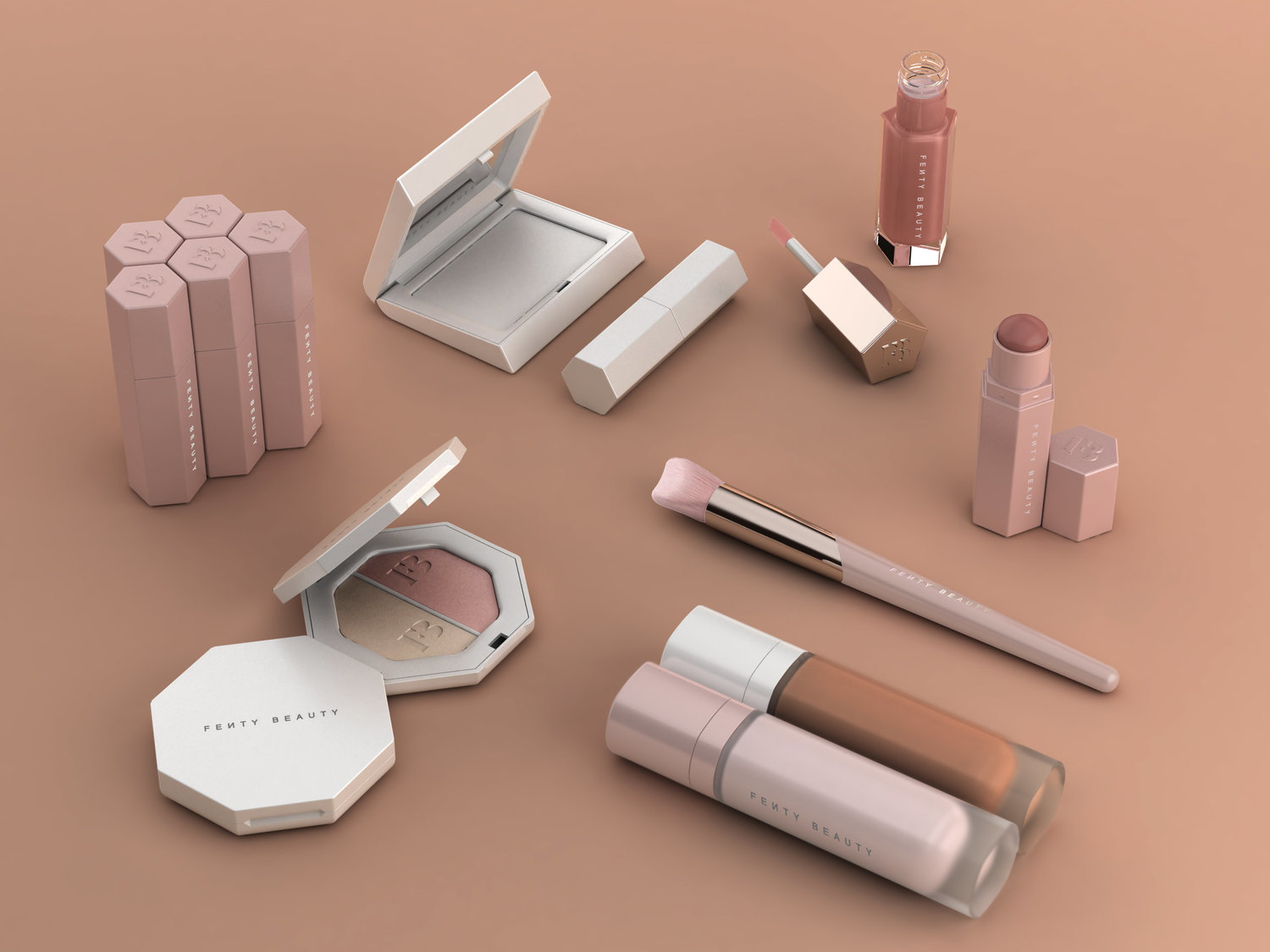 Established nyc Rihanna Fenty beauty Collection | Makeup Packging