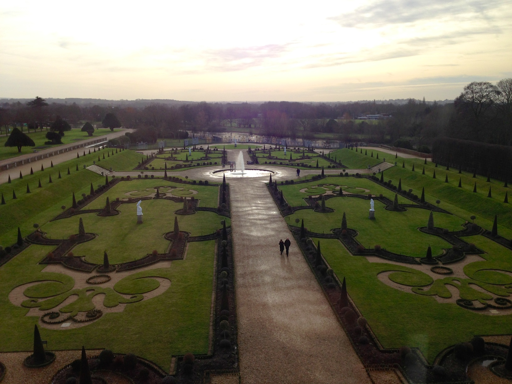 View of Hampton Court from RSN apartments