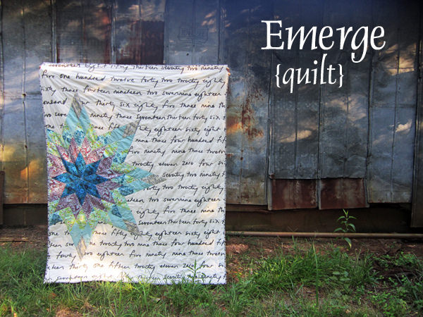 Emerge Quilt from Angled class run by Rachel Hauser of Stitched In Color