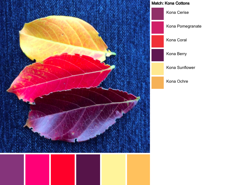 Virginia Leaves Palette Builder