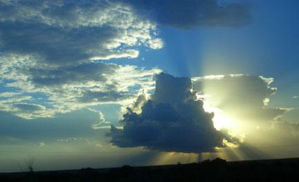Florida sky, not British sky