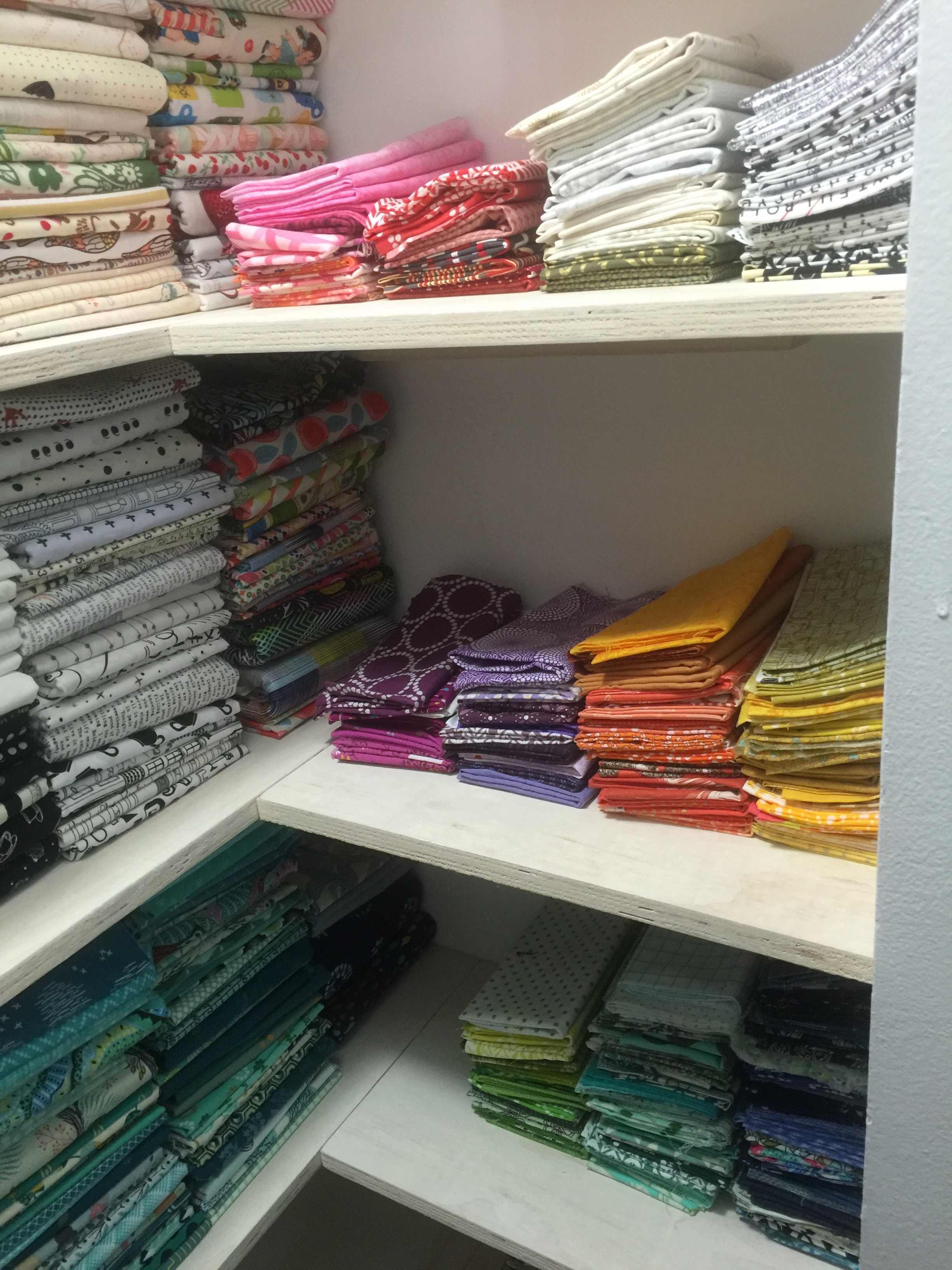 Fat quarters on the other side