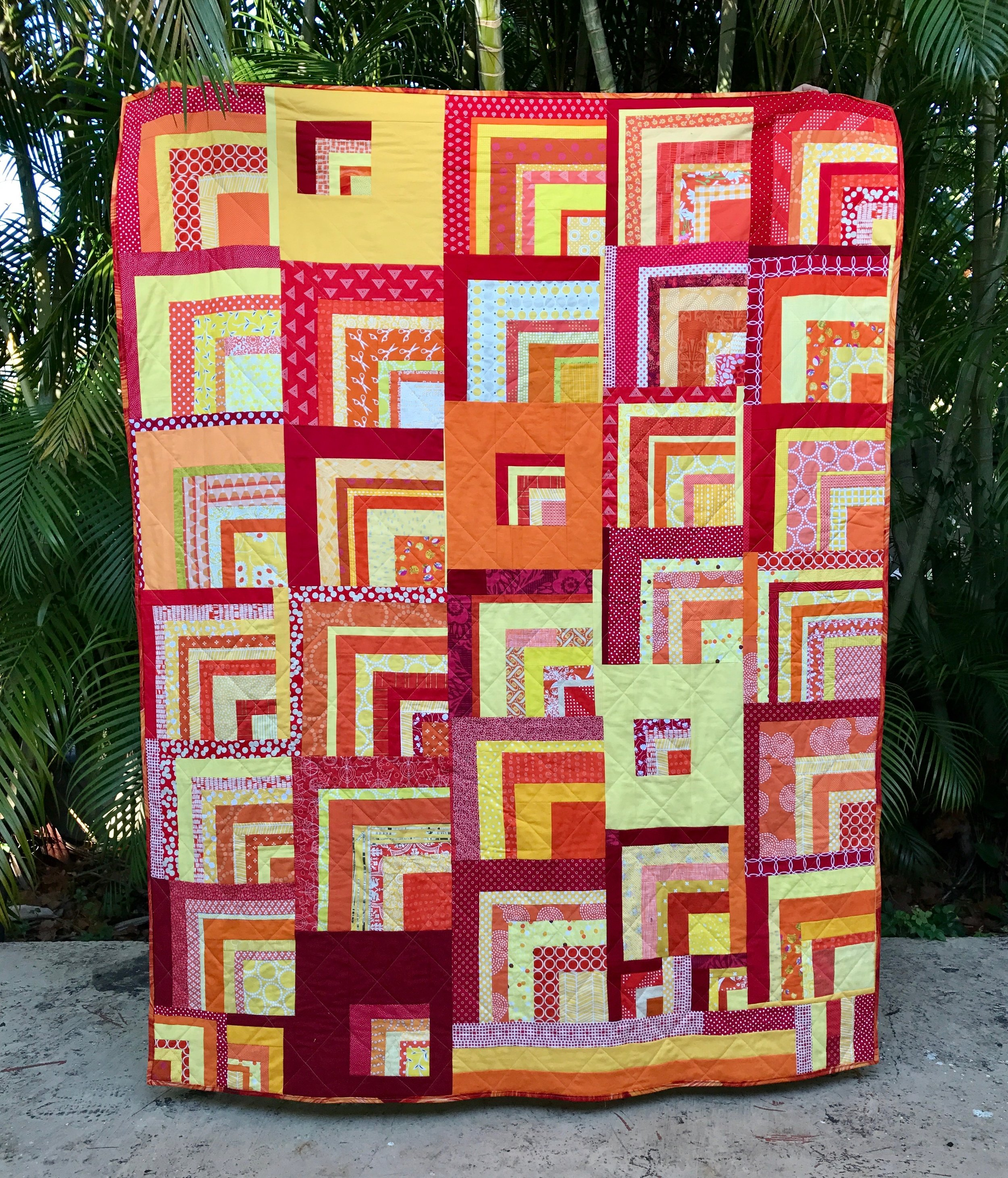 Play in the Sunshine - A quilt by Love Circle of DO. good stitches.