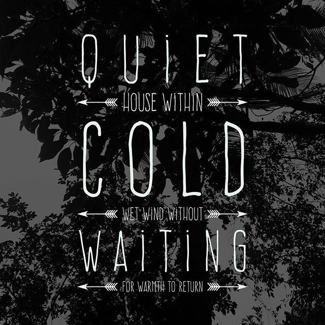 Alone (January 2) #poemforyesterday #poem #poemsofinstagram