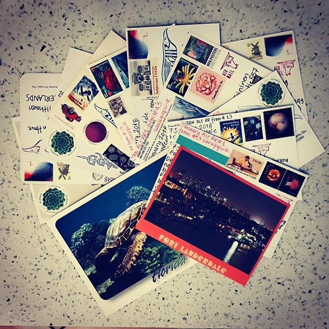 Outgoing.  #postcrossing #snailmail