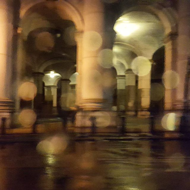 Nature's filter #rain #nycstreets #reflections #light #urbanlandscape #driving #nycarchitecture