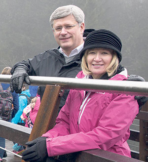 Trans Canada Trail's Chapter 150 Honorary Campaign Chair, Mrs. Laureen Harper, hopes the TCT will encourage all Canadians to get outdoors and enjoy the sights and sounds of nature.   SUPPLIED