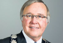 Lord Mayor Dave Eke ,   Niagara-on-the-Lake, ON