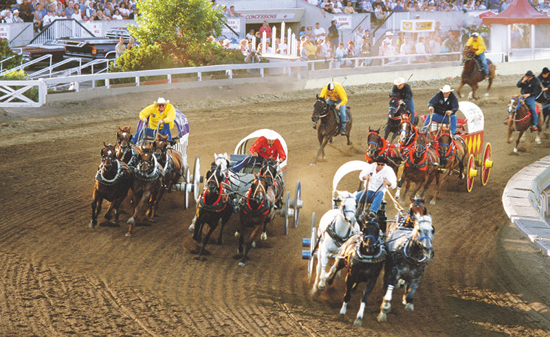 Calgary Stampede, via the Cenovus Legacy Trail, AB