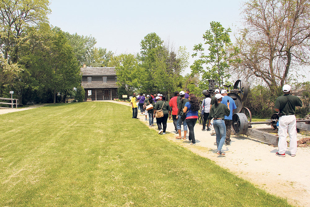 ON - Dresden Underground Railroad museum via Chatham-to-Kent TCT