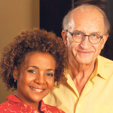 Michaëlle Jean, 27th Governor General of Canada, and Jean-Daniel Lafond, Filmmaker & Author