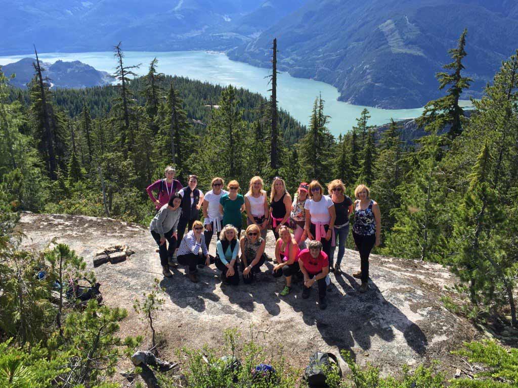 Sea to Sky Trail, Squamish BC