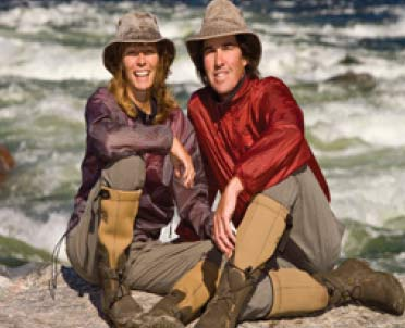 Gary & Joanie McGuffin, Explorers, Authors, Conservation Photographers