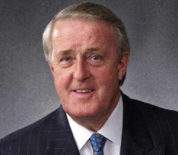 The Rt. Hon. Brian Mulroney, 18th Prime Minister of Canada
