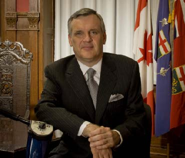 The Hon. David Onley, 28th Lieutenant Governor of Ontario