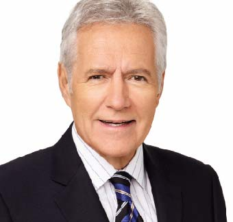 Alex Trebek,  Host of Jeopardy!