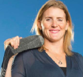 Hayley Wickenheiser, 5-time Olympic Medallist in Women's Hockey
