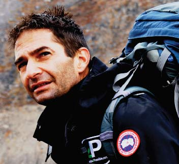 Ray Zahab, Adventurer, and Founder of impossible2Possible