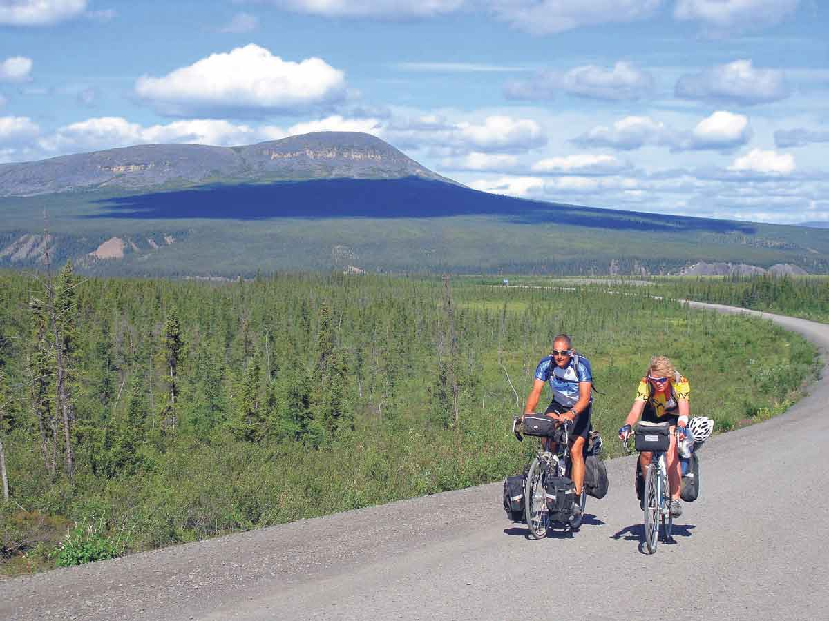 Trans Canada Trail encourages everyone who uses roadways on The Great Trail to proceed with caution and to follow all rules of the road.  GEORGE FISHER