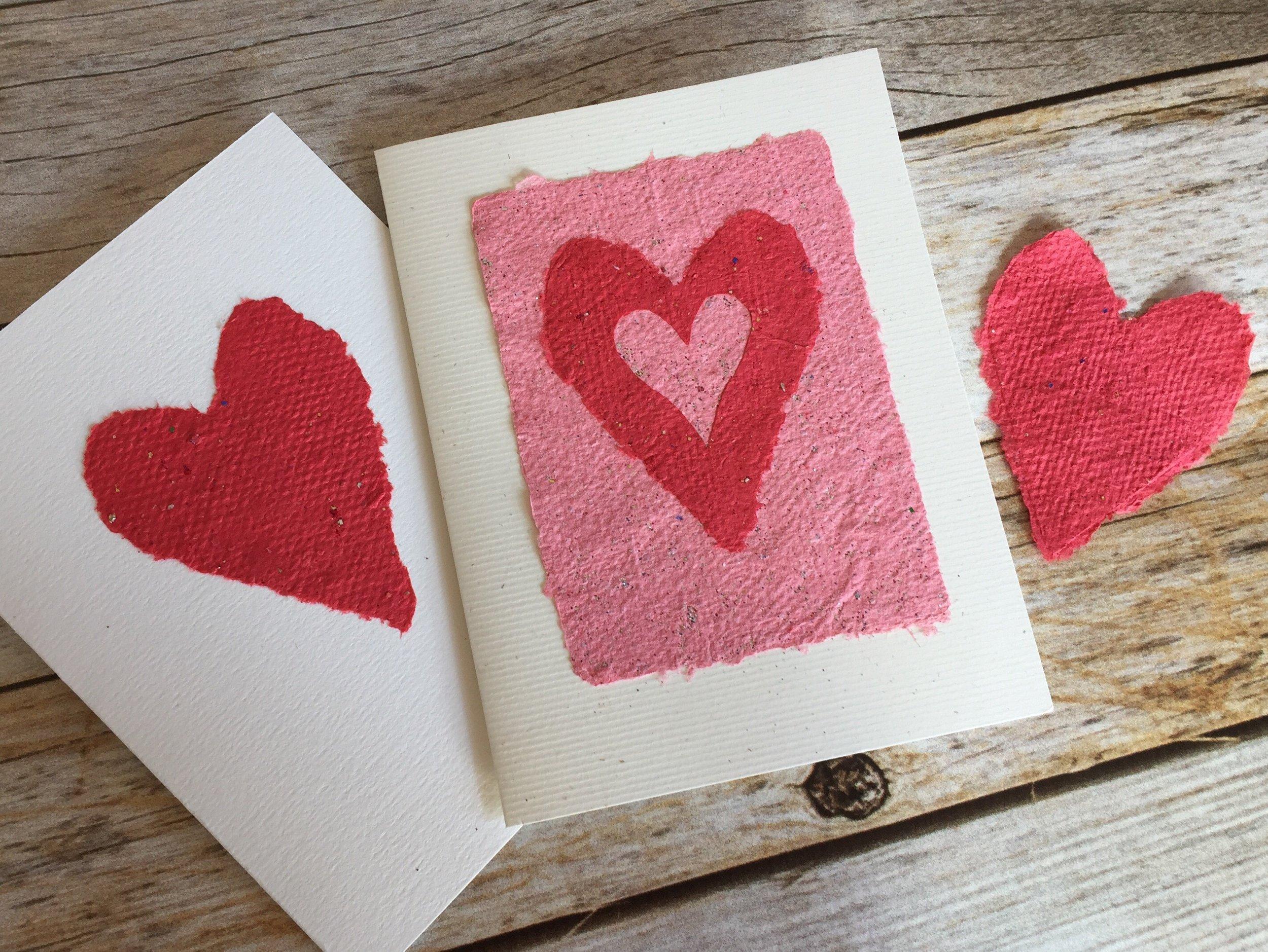 handmade-paper-hearts
