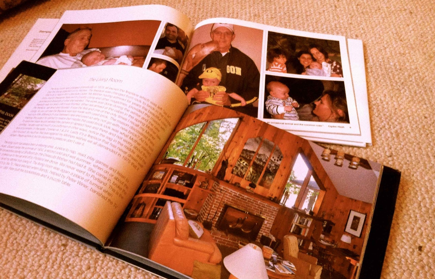 Cherished possessions—photo books made by family members. Thank you for helping me document my life!