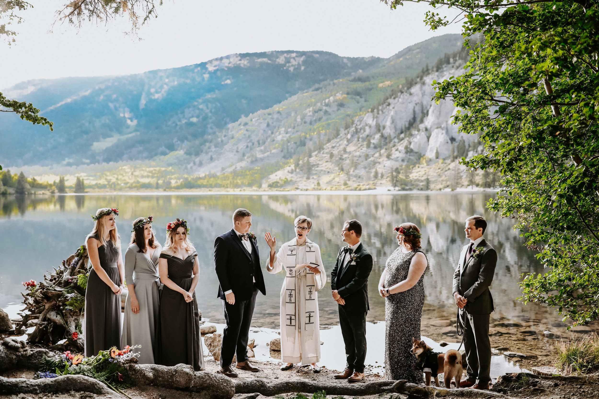 Austin and I's Wedding in Colorado at Cottonwood Lake