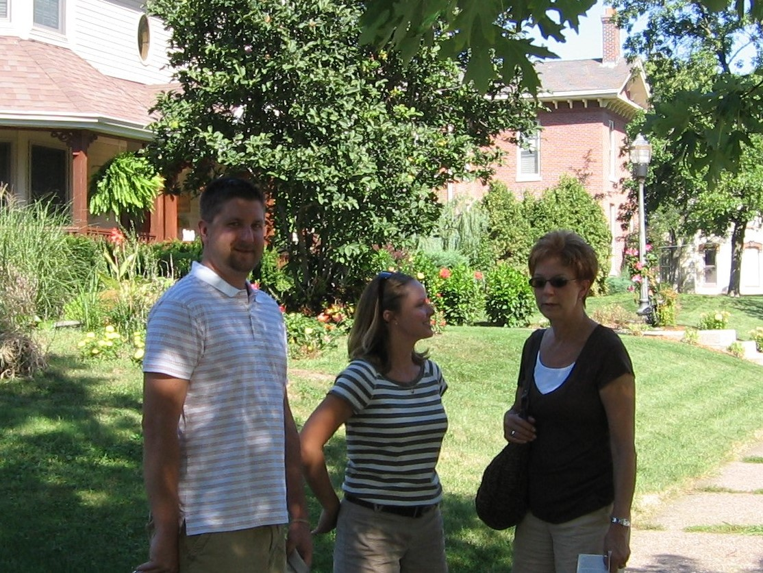Christopher, Megan, and Mary