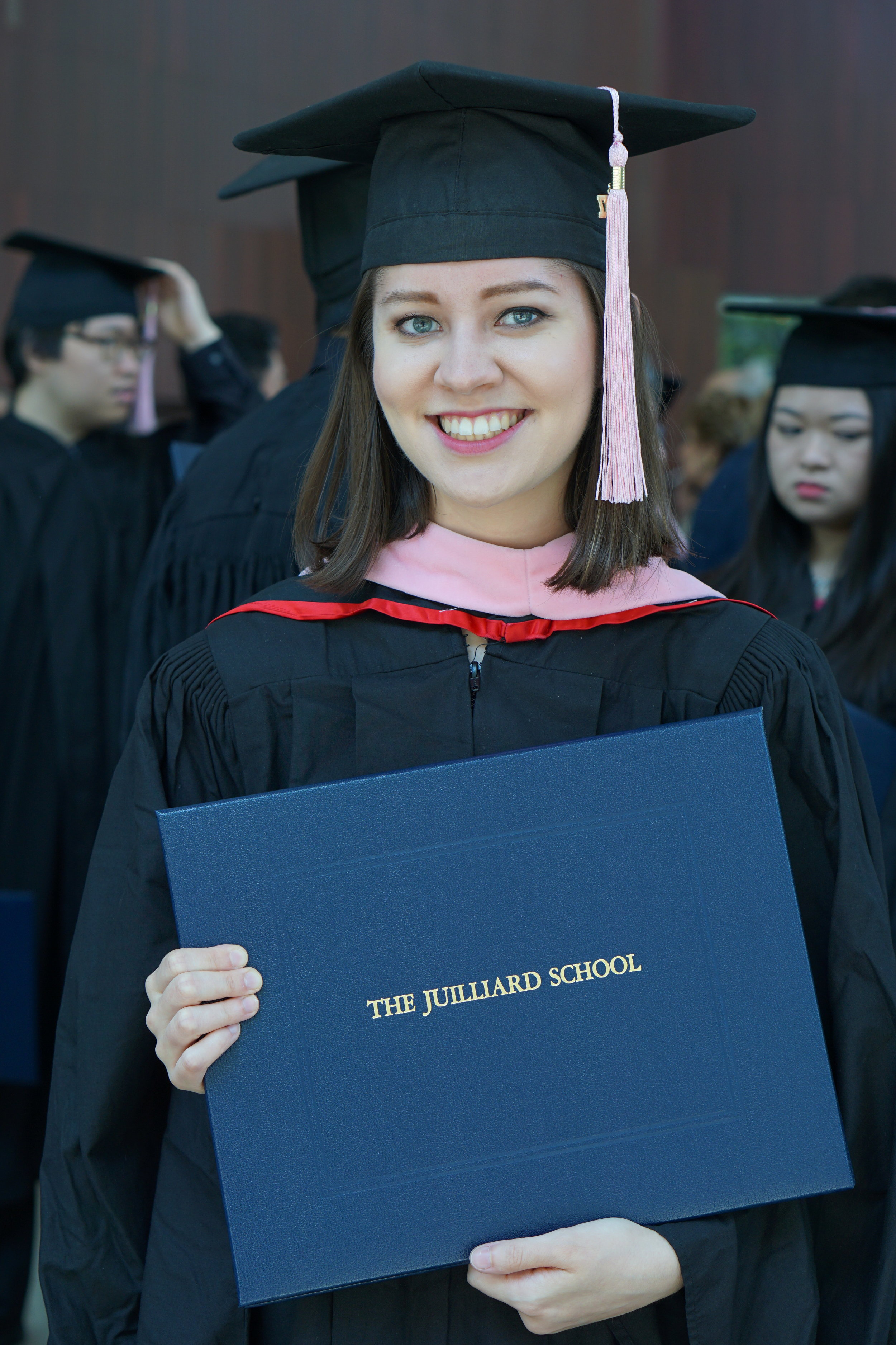 Masters Graduation from Juilliard in 2017